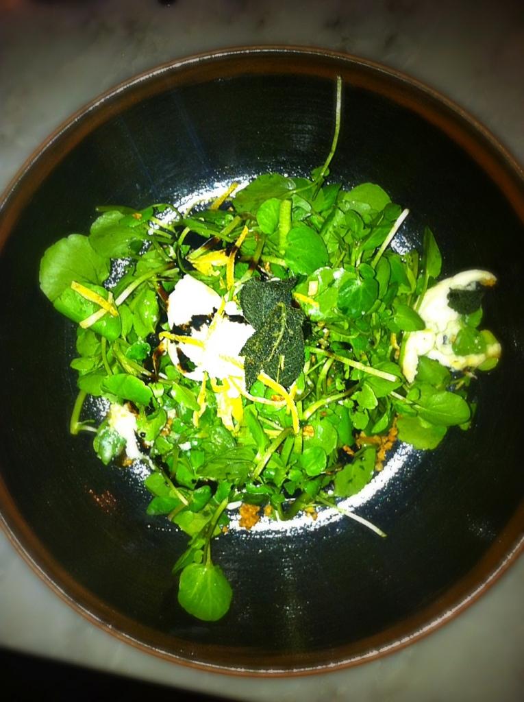 Salade Mozzarella @ Duck & Waffle