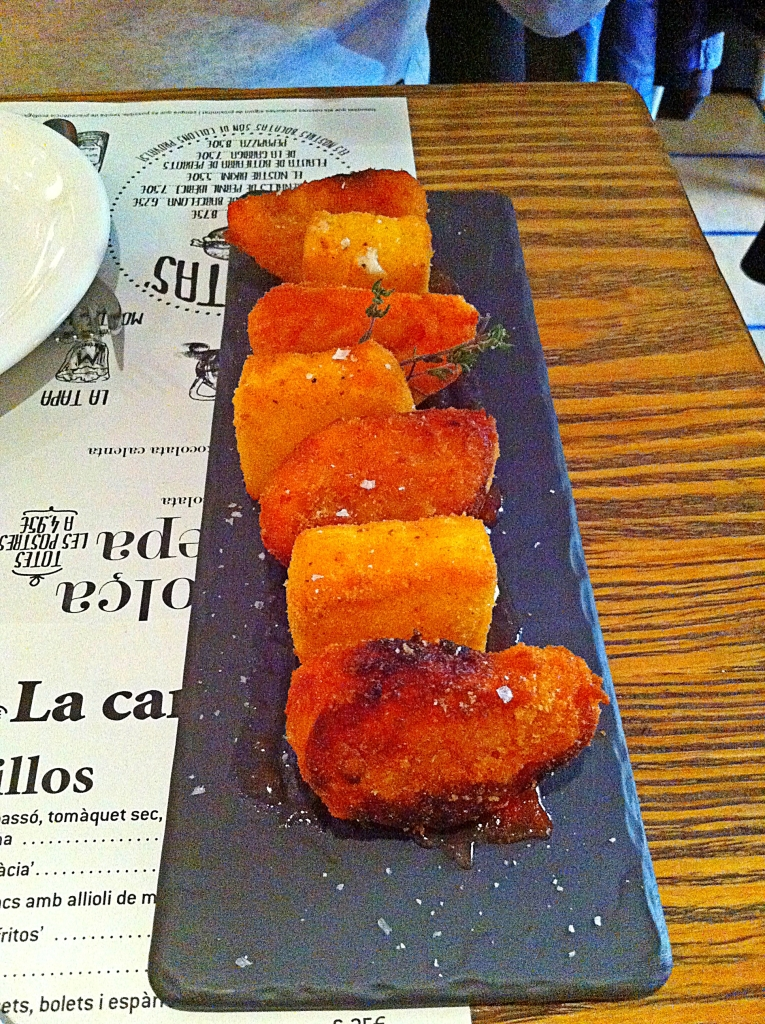 Croustillant de tomate et fromage